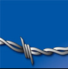 Barbed Wire Lettering